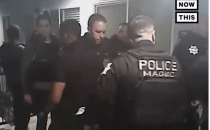 Police Officer Beats Young Black Male