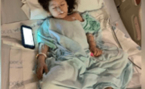 Photo of 3-year old who was shot