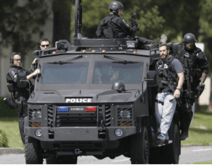 photo of armored vehicle