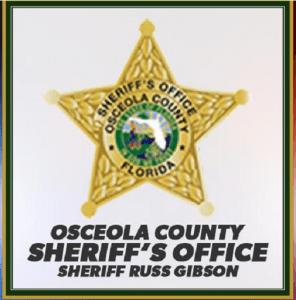 photo of Osceola Sheriff's badge