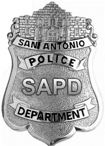 photo of San Antonio Police Department badge