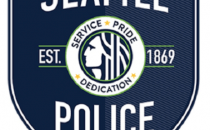 photo of Seattle Police patch