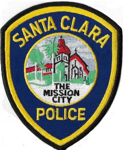 photo of Santa Clara Police patch
