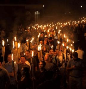 photo of white supremacists
