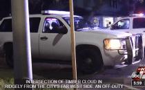 photo of faked police vehicle
