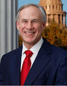photo of Governor Greg Abbott