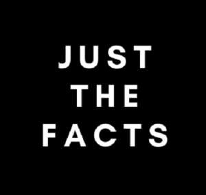 photo of Just the Facts motto