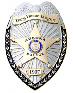 Aurora Police Department badge