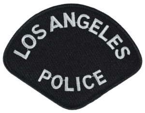 Los Angeles police patch