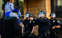 photo of excessive force by police