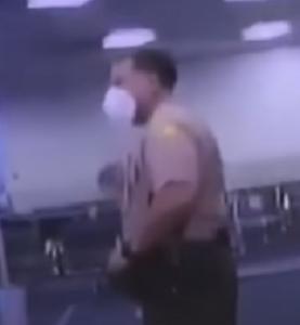 Antonio Clemente Rodriguez with Miami-Dade police