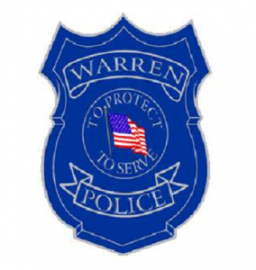 Warren Police Department patch