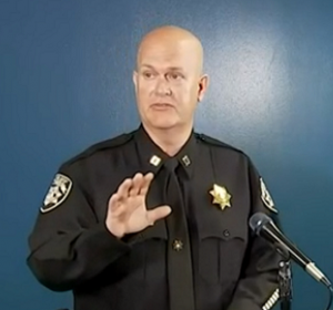 Capt. Jay Baker of the Cherokee County Sheriff's Office, removed media contact after insensitive comment